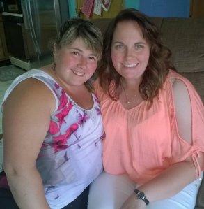 Casey Hagen and her best friend