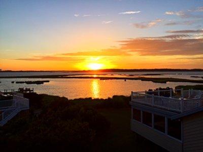 Sunset on Fenwick Island, DE